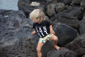 Bandit Rashie - Chachi's Bay - kids rashies - kids swimwear - kids swim shoes - round towels - beach towels