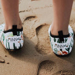 Cactus Toddler Soft Sole Beach Shoe - Chachi's Bay - kids rashies - kids swimwear - kids swim shoes - round towels - beach towels
