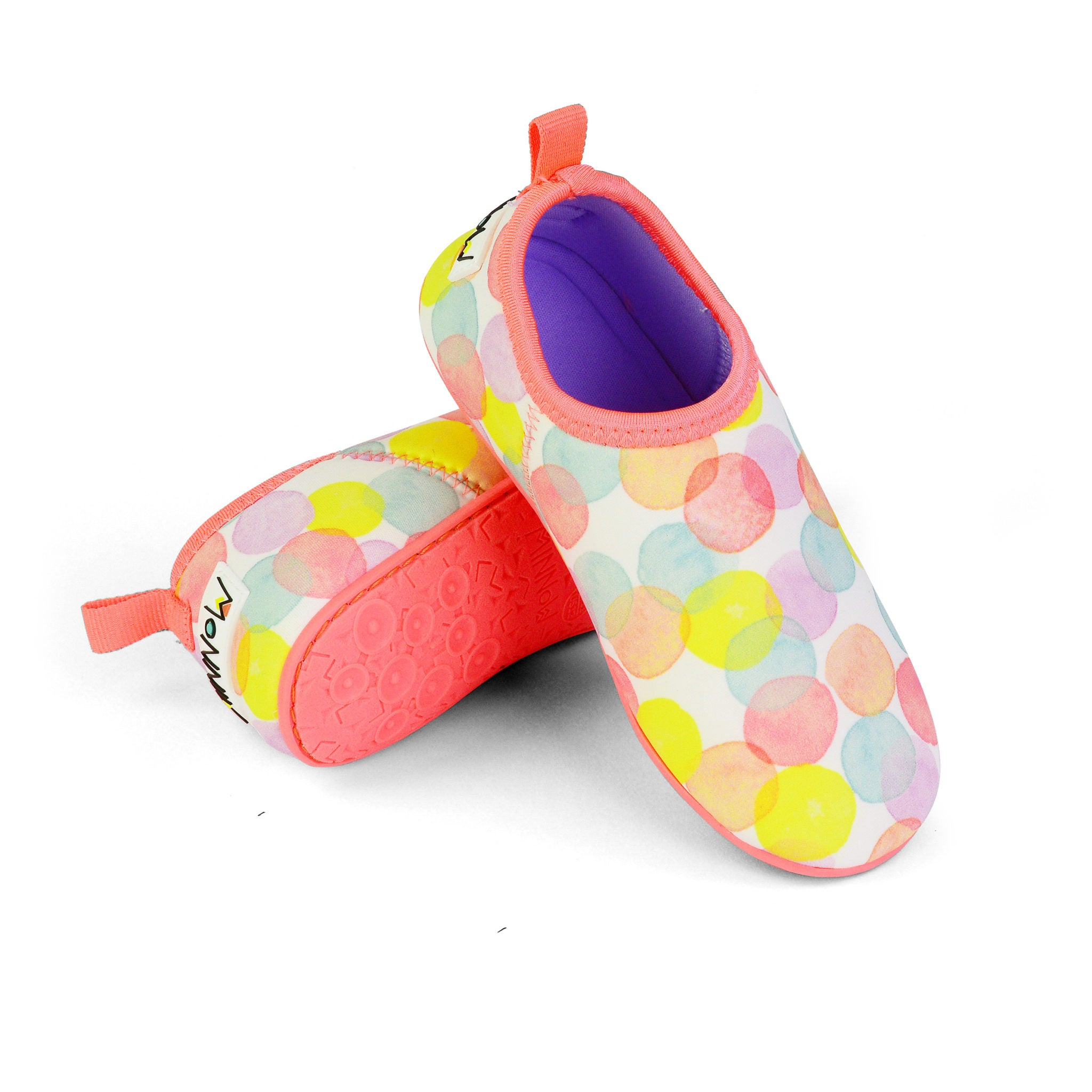 Dotty Junior Swim Shoe - Chachi's Bay - kids rashies - kids swimwear - kids swim shoes - round towels - beach towels