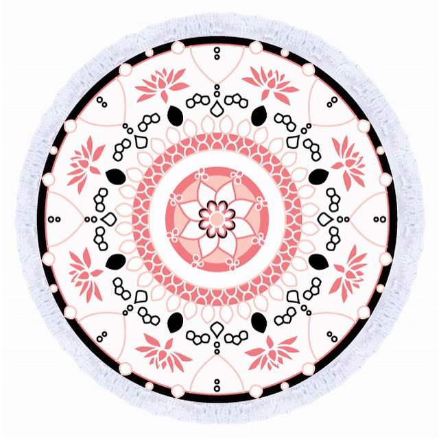 Avalon Round Towel - Chachi's Bay
