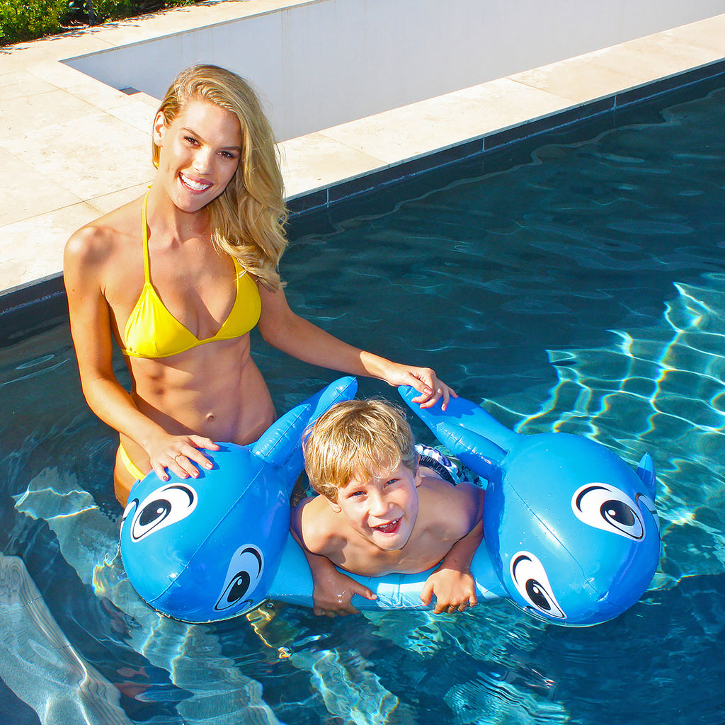 Little Shark Kick Float - Chachi's Bay - kids rashies - kids swimwear - kids swim shoes - round towels - beach towels