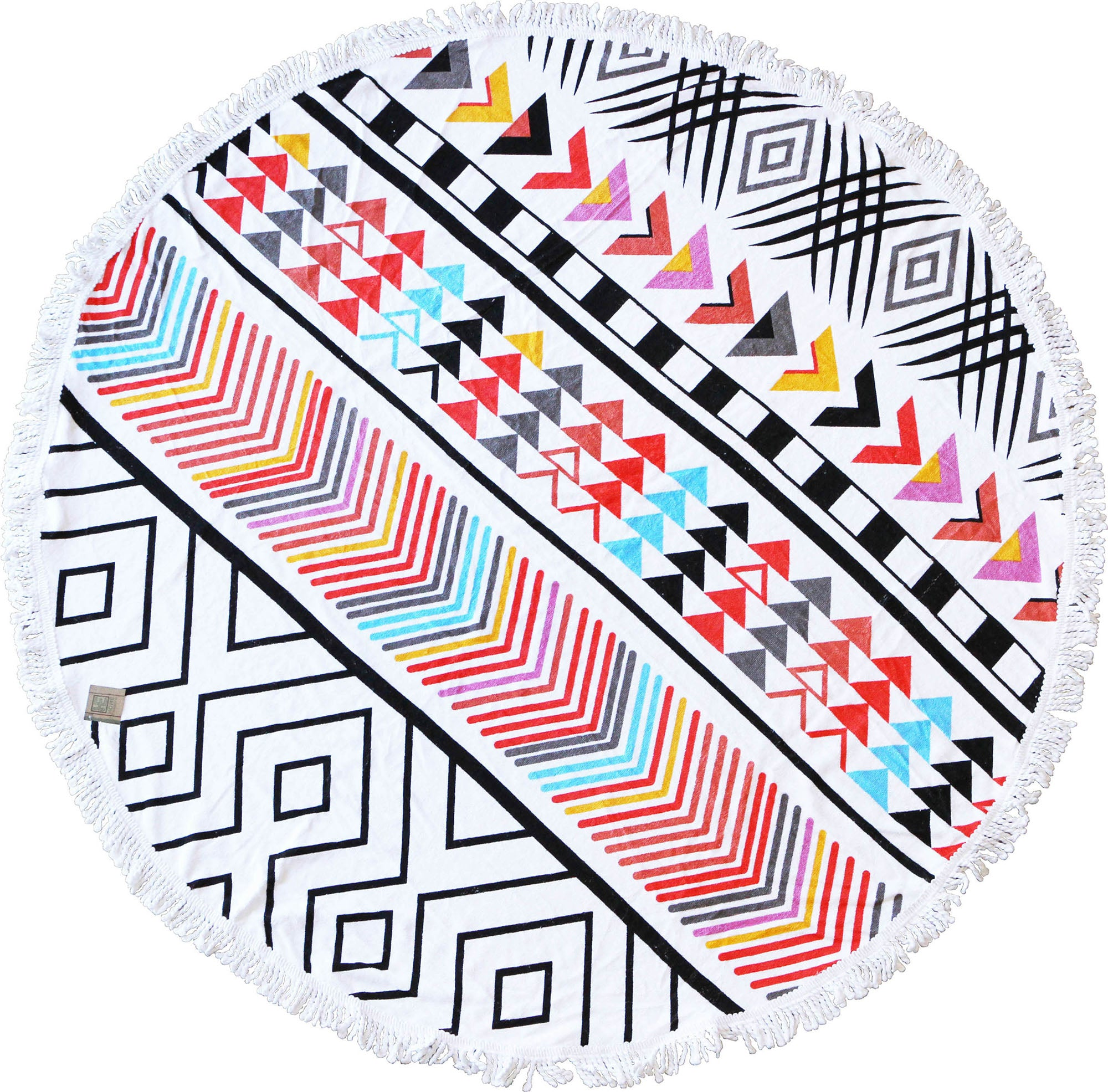 Cherokee Round Beach Towel - Chachi's Bay - kids rashies - kids swimwear - kids swim shoes - round towels - beach towels