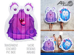 Sea Monsters! - Chachi's Bay - kids rashies - kids swimwear - kids swim shoes - round towels - beach towels