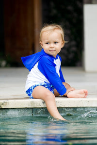 MIAMI BABY Rashie 50% OFF - Chachi's Bay - kids rashies - kids swimwear - kids swim shoes - round towels - beach towels