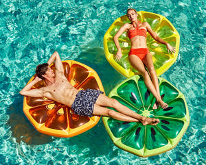 Watermelon Circle Pool Float - Chachi's Bay - kids rashies - kids swimwear - kids swim shoes - round towels - beach towels