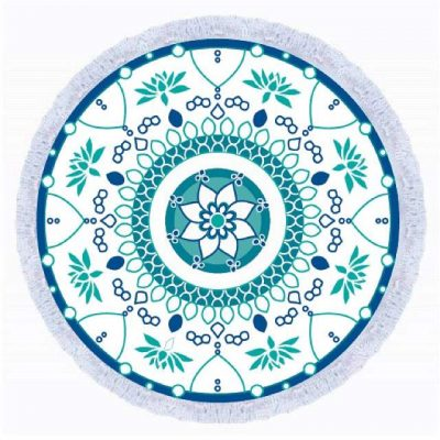 Hanalei Round Towel - Chachi's Bay - kids rashies - kids swimwear - kids swim shoes - round towels - beach towels