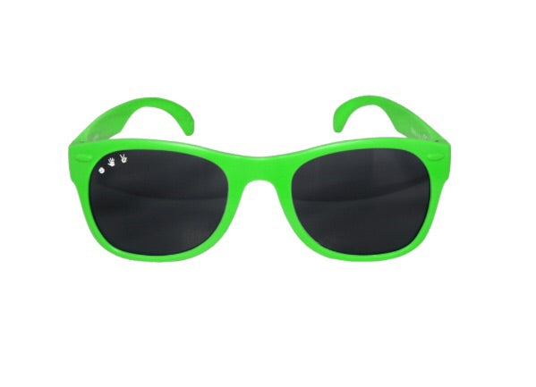 Slimer! Bright Green Shades. 50% OFF - Chachi's Bay - kids rashies - kids swimwear - kids swim shoes - round towels - beach towels