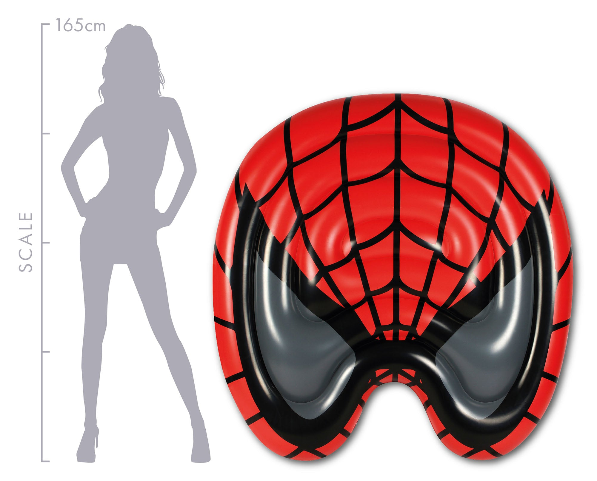 Superhero Mask Inflatables. Batman and Spider-Man - Chachi's Bay - kids rashies - kids swimwear - kids swim shoes - round towels - beach towels