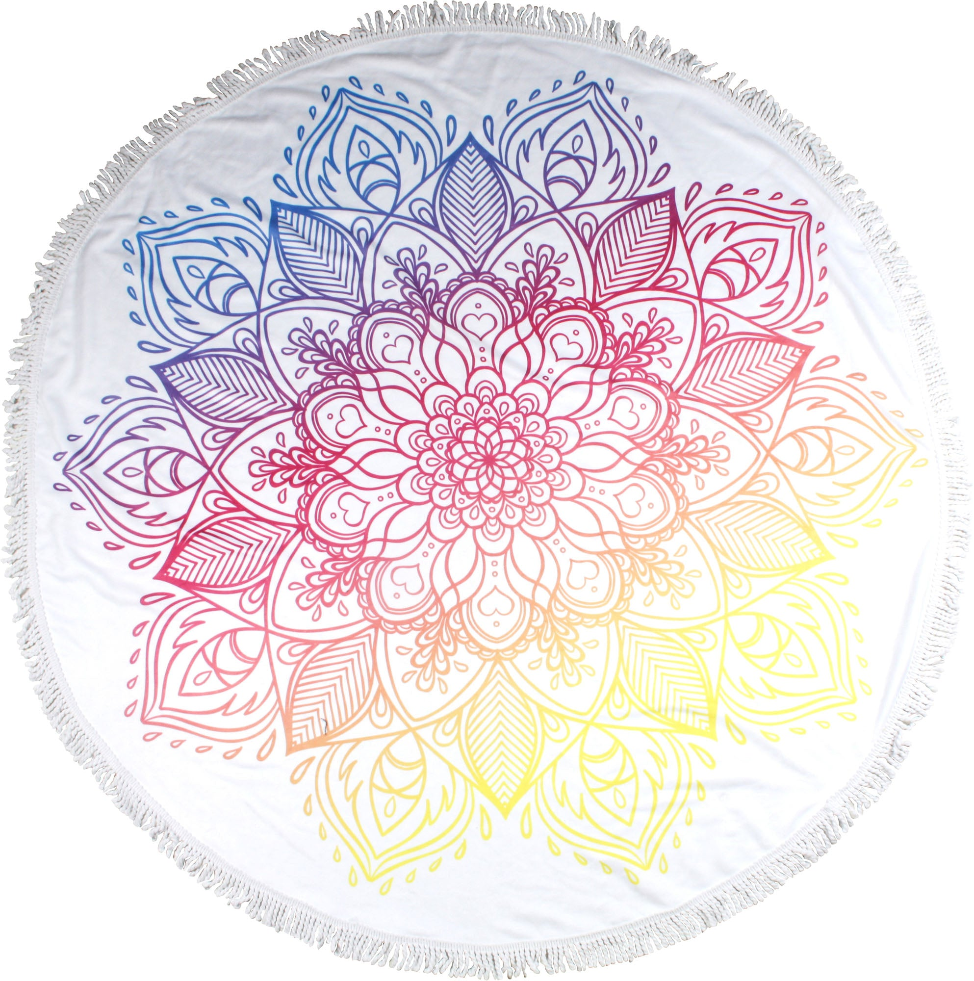 Sunset Round Towel - Chachi's Bay