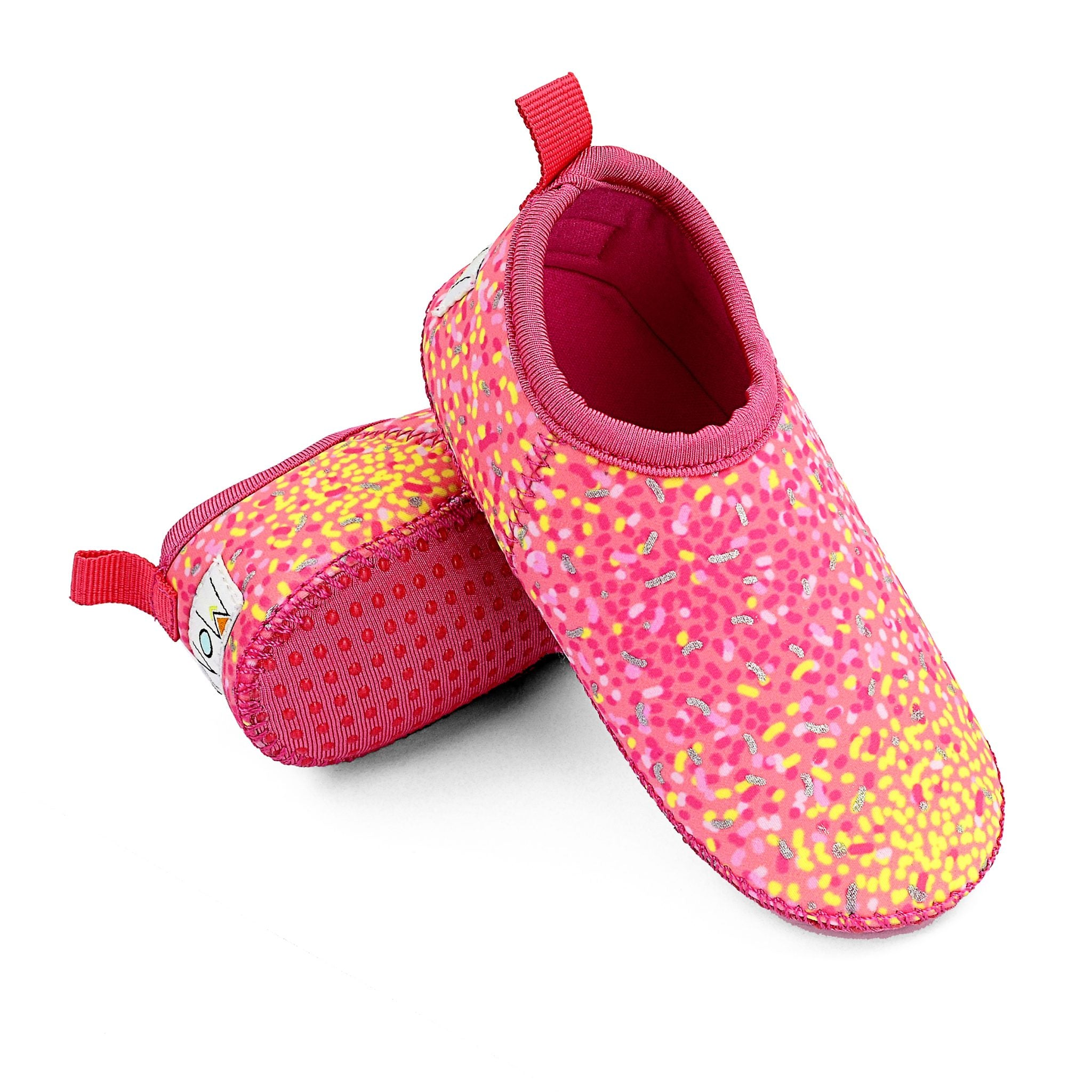 Starburst Toddler Soft Sole Beach Shoe - Chachi's Bay - kids rashies - kids swimwear - kids swim shoes - round towels - beach towels