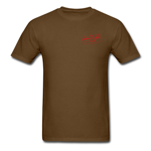 AK Signature Men's T-Shirt - brown