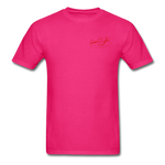 AK Signature Men's T-Shirt - fuchsia
