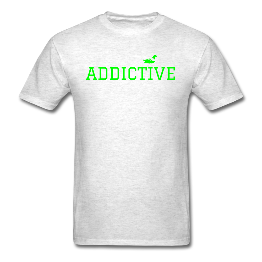 Addictive Neon T-Shirt - light heather grey