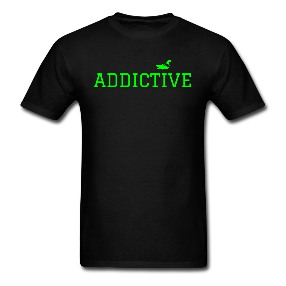 Addictive Neon T-Shirt - black