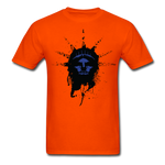 Liberty Of Kaos (Blue) T-Shirt - orange