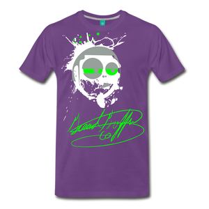Toon Head Premium T-Shirt - purple