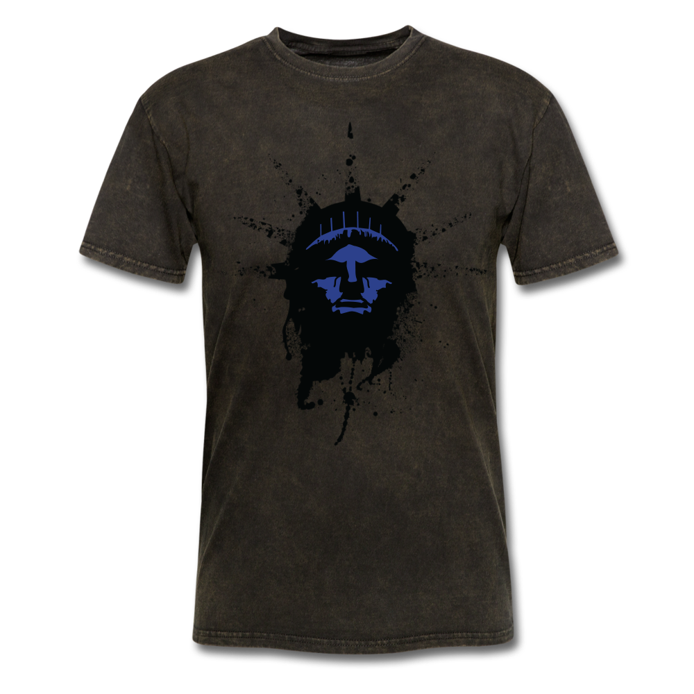 Liberty Of Kaos (Blue) T-Shirt - mineral black