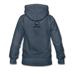Classic Addictive Kaos Logo Women's Hoodie - heather denim