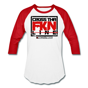 CTL baseball tee - white/red