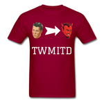 TWMITD T-Shirt - dark red