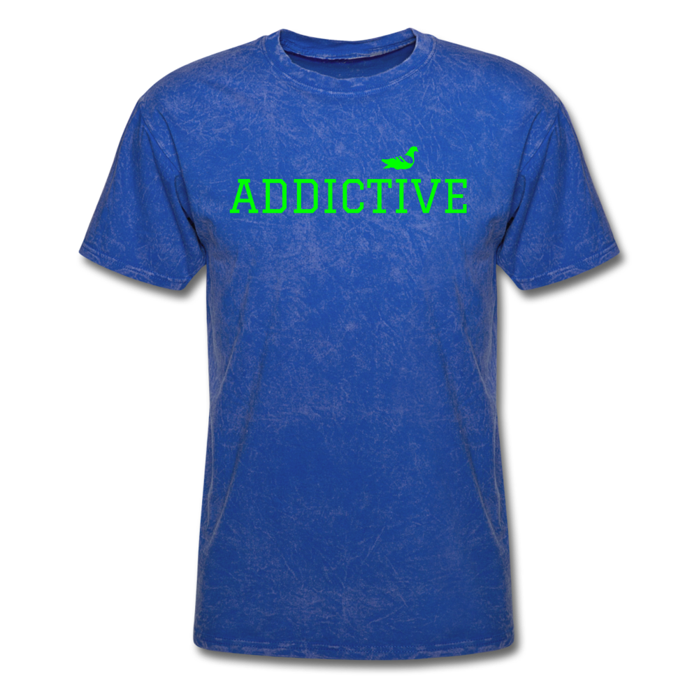 Addictive Neon T-Shirt - mineral royal