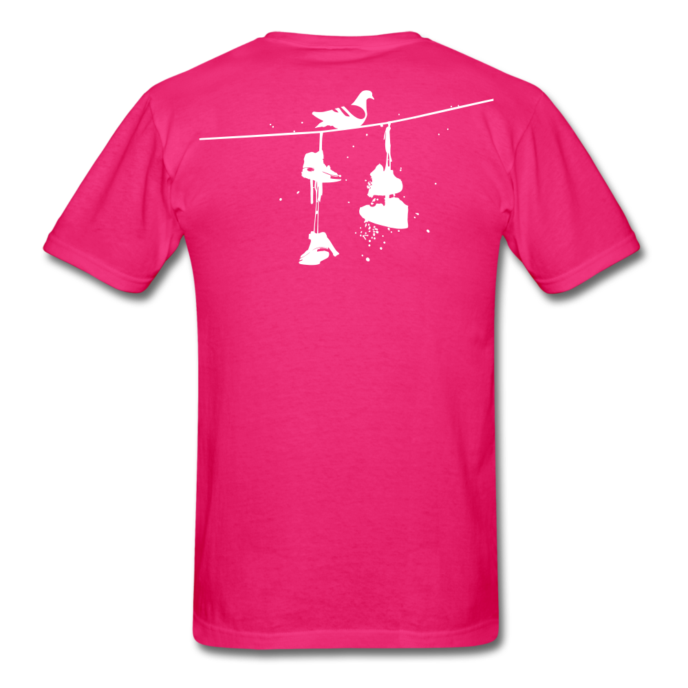 Old New York AKT-Shirt - fuchsia