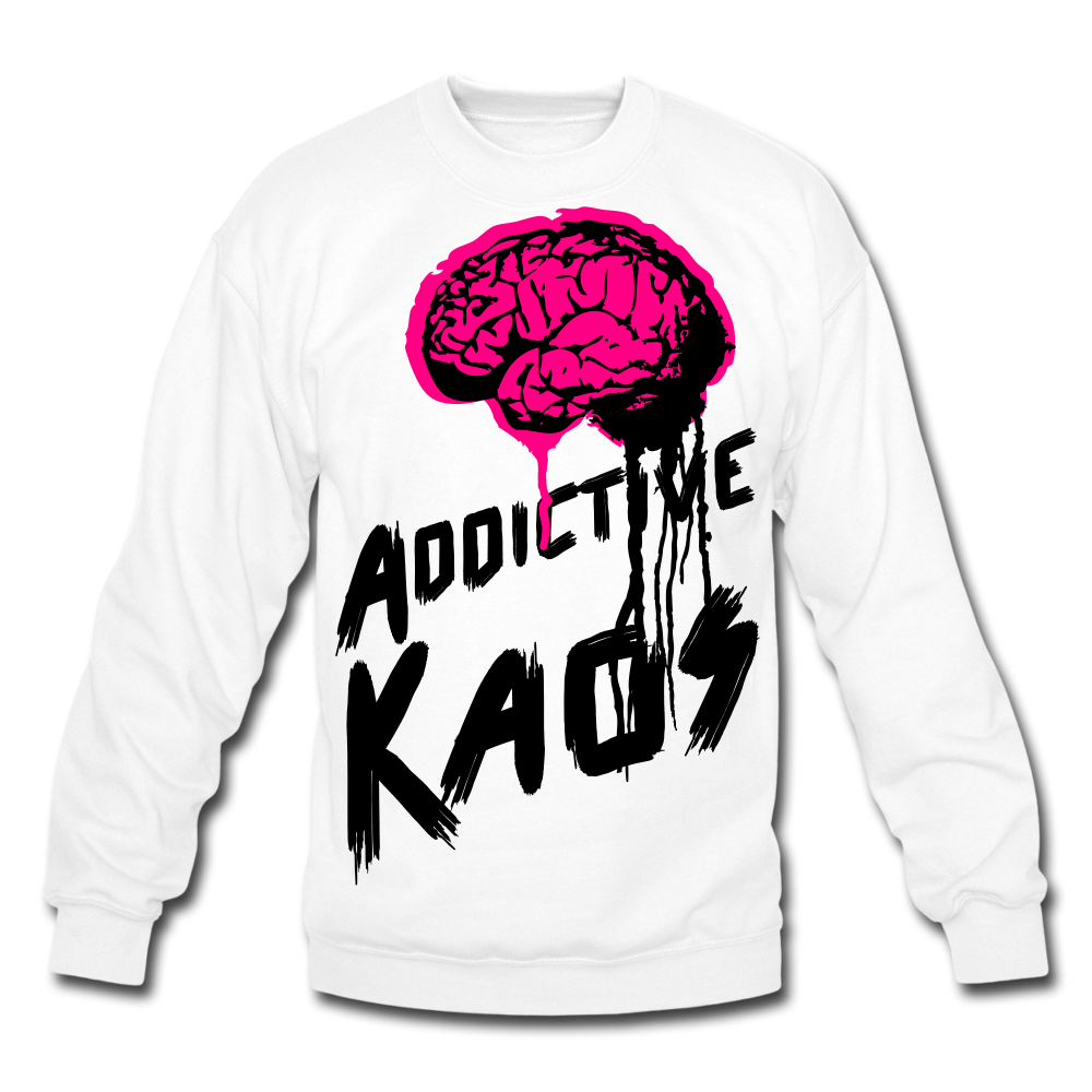 Brain of Operations Crewneck Sweatshirt - white