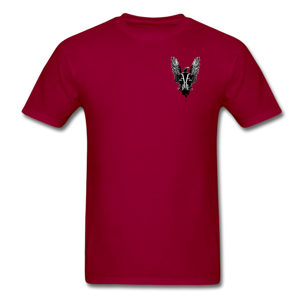Order Of Owls Men's T-Shirt - dark red