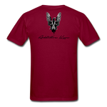 Order Of Owls Men's T-Shirt - burgundy