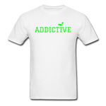Addictive Neon T-Shirt - white