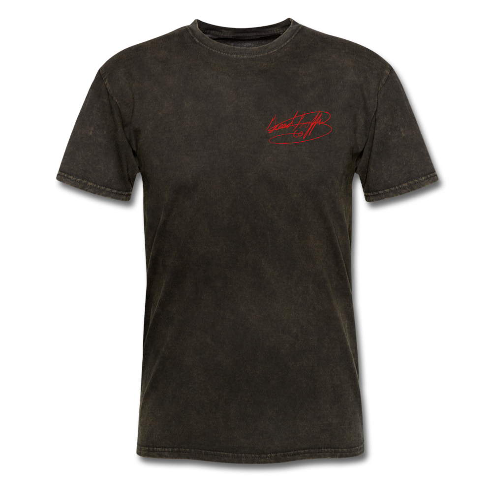 AK Signature Men's T-Shirt - mineral black