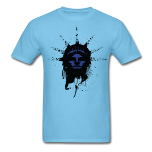 Liberty Of Kaos (Blue) T-Shirt - aquatic blue