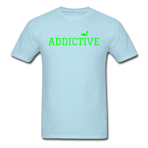 Addictive Neon T-Shirt - powder blue