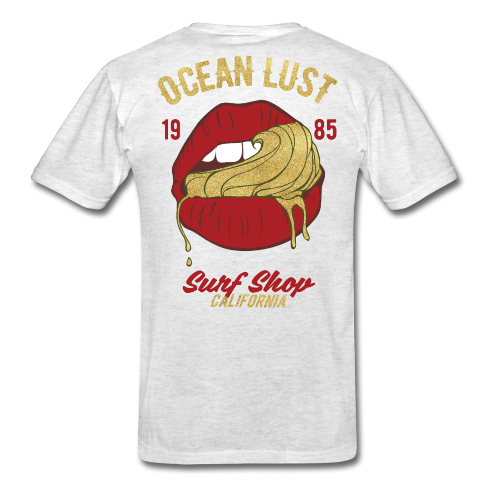 Ocean Lust T-Shirt (GLD2) - light heather grey