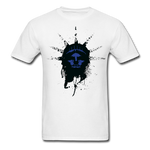 Liberty Of Kaos (Blue) T-Shirt - white
