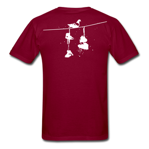Old New York AKT-Shirt - burgundy