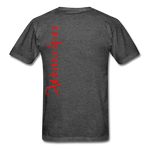 AK Signature Men's T-Shirt - heather black