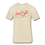 Big Signature Fitted T-Shirt - heather cream