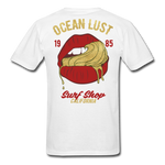 Ocean Lust Men's T-Shirt(GLD) - white