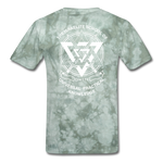 TWMITD T-Shirt - military green tie dye
