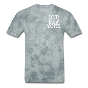 Old New York AKT-Shirt - grey tie dye