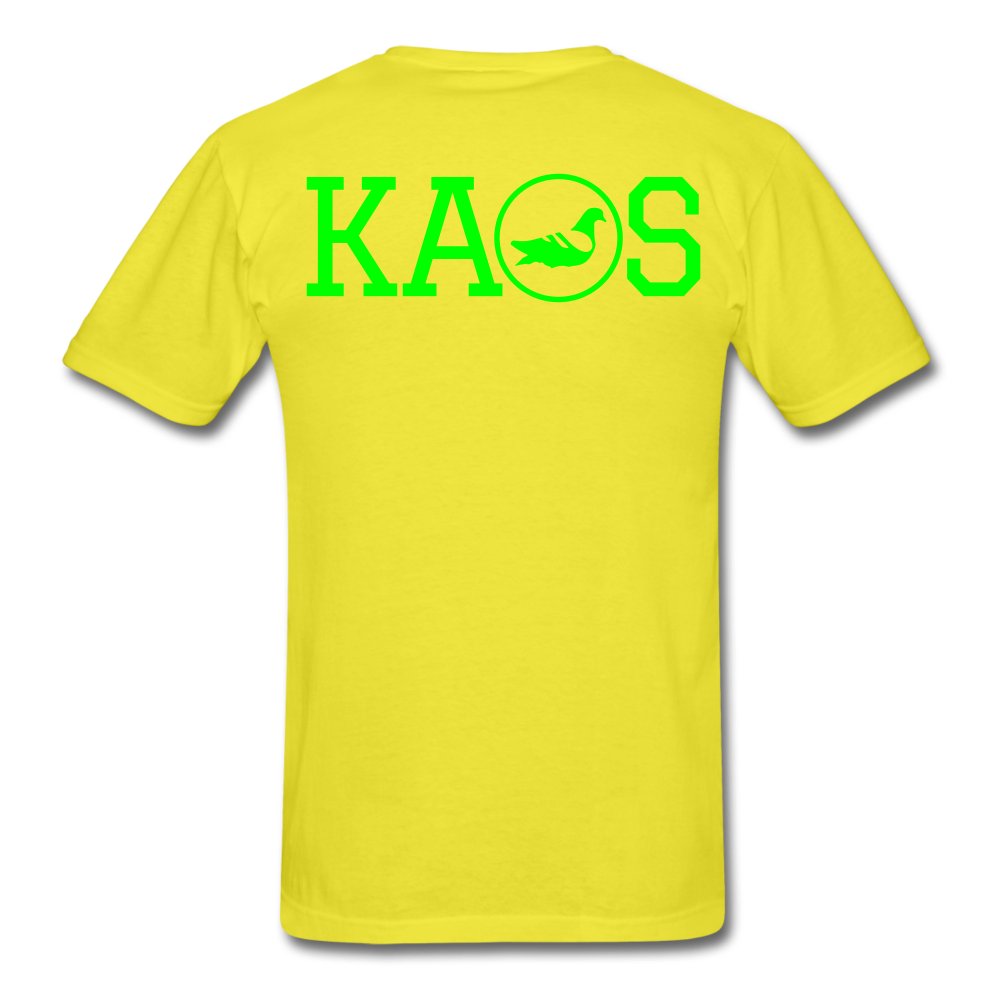 Addictive Neon T-Shirt - yellow