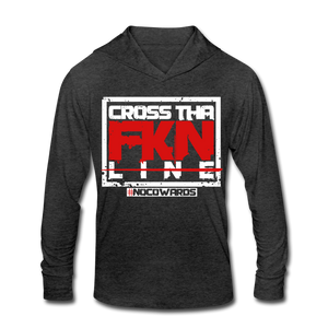 CTL Tri-Blend Hoodie Shirt - heather black