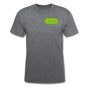 Love You T-Shirt - mineral charcoal gray