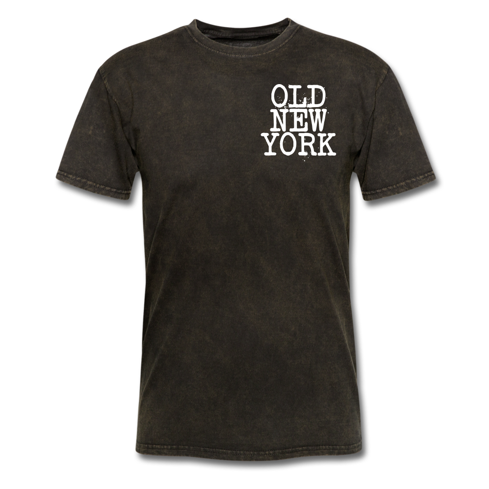 Old New York AKT-Shirt - mineral black