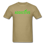 Addictive Neon T-Shirt - khaki