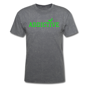 Addictive Neon T-Shirt - mineral charcoal gray