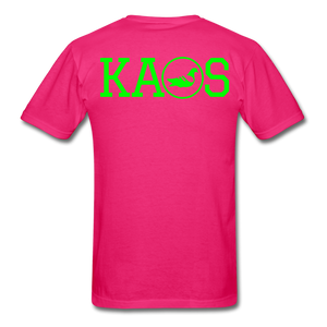 Addictive Neon T-Shirt - fuchsia