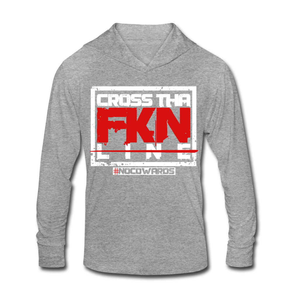 CTL Tri-Blend Hoodie Shirt - heather gray