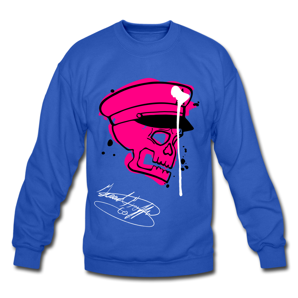 Th(ink) Revolution Crewneck Sweatshirt - royal blue
